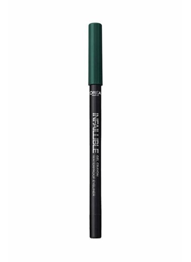 L'Oréal Paris Loreal Parıs Infaıllıble Gel Crayon 24h Eyeliner 17 Chrıstmas Day Delist Yeşil